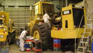 Mantenimiento de maquinaria pesada