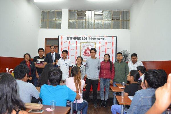 Estudiantes academia Cima